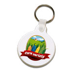 Color Printed Keychain