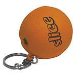 Porte-clés orange anti-stress