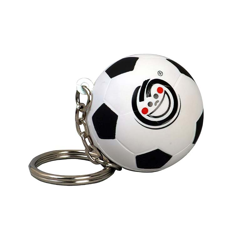 Porte-clés anti-stress ballon de soccer