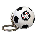 Soccer Stress Ball Key Chain