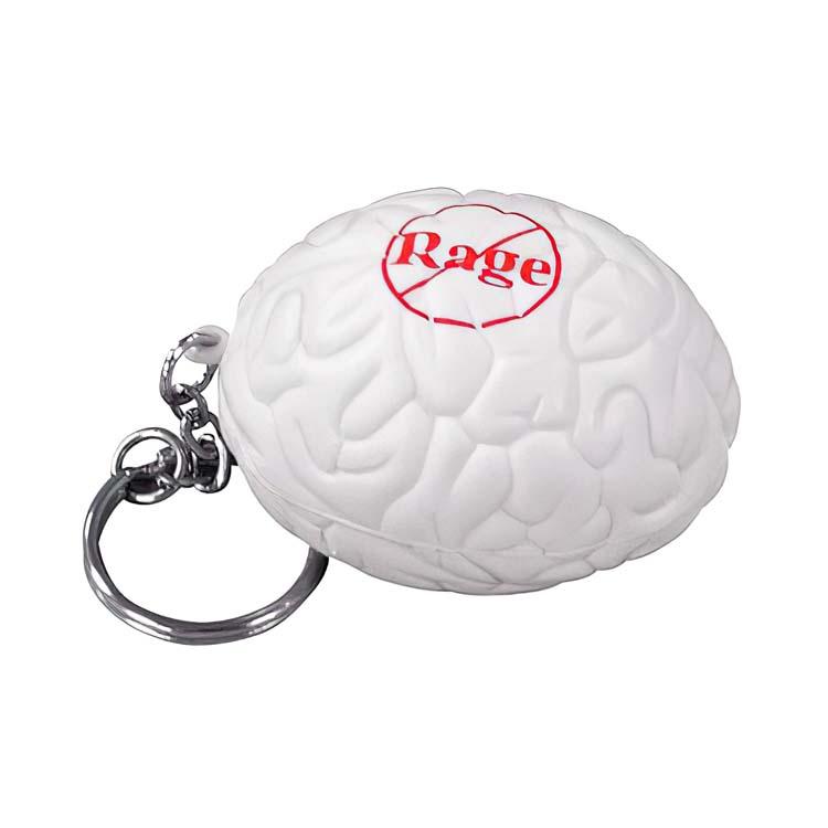Brain Stress Ball Key Chain
