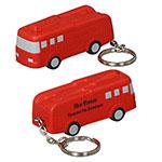 Porte-clés camion de pompier anti-stress