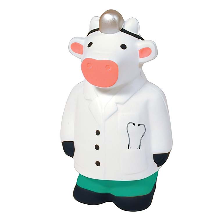 Doctor Cow Stress Ball