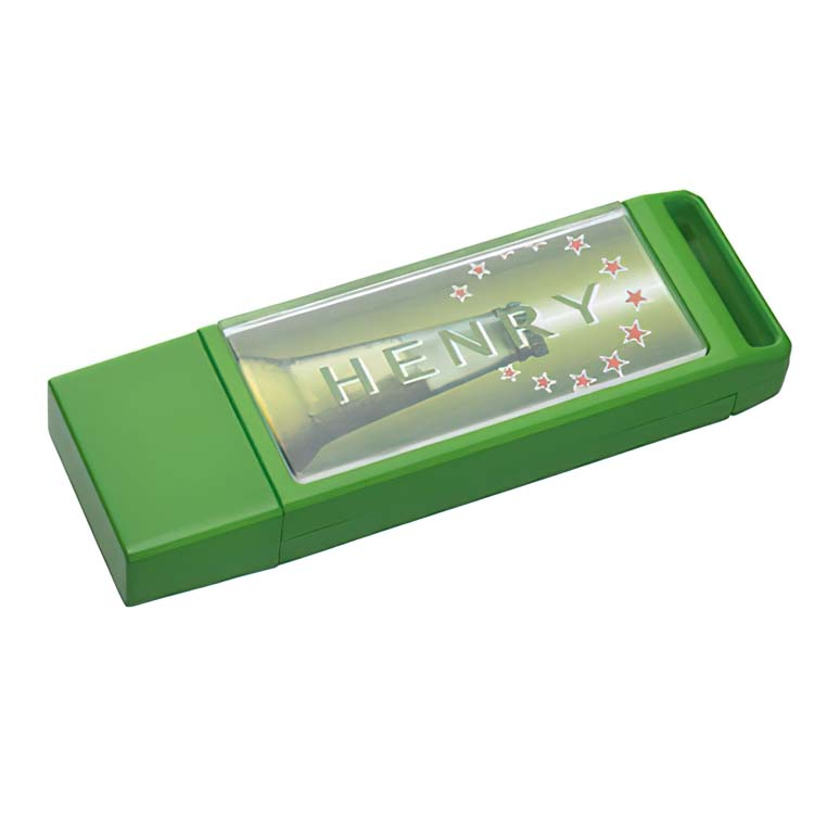 Bâton de mémoire clé USB vert