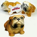 Chien Bull Dog balle anti-stress