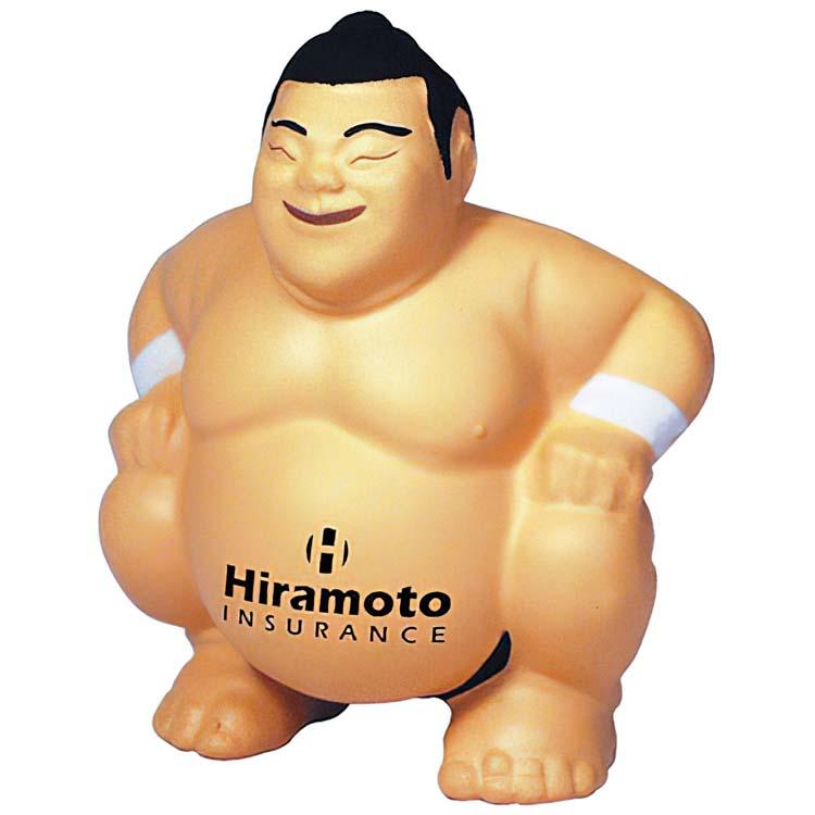 Lutteur Sumo balle anti-stress
