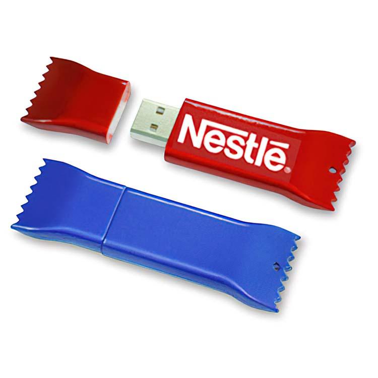 Bâton de mémoire clé USB forme de chocolat