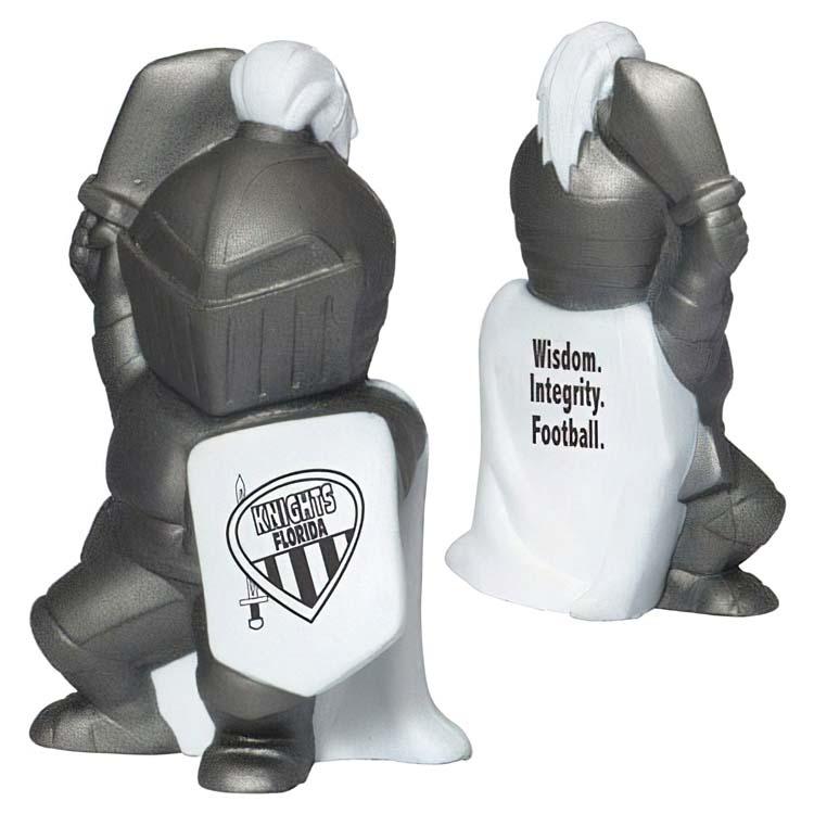 Mascotte chevalier anti-stress