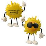 Figurine soleil cool anti-stress