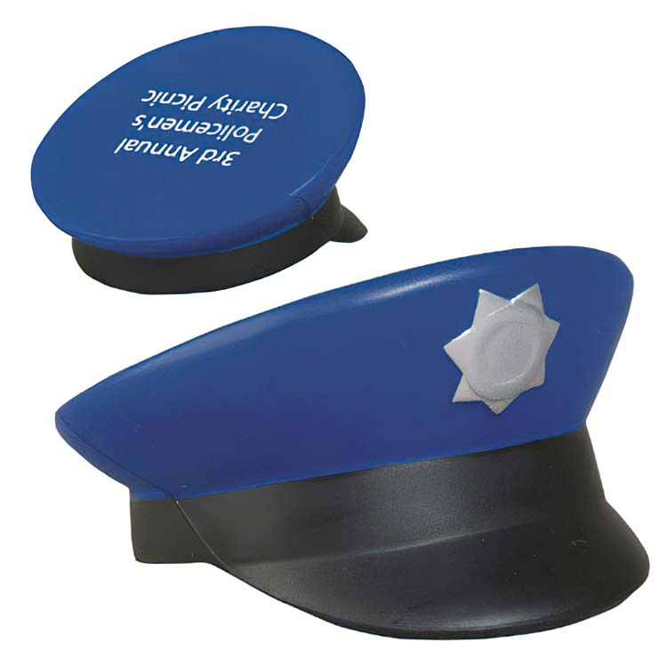 Casquette de policier balle anti-stress