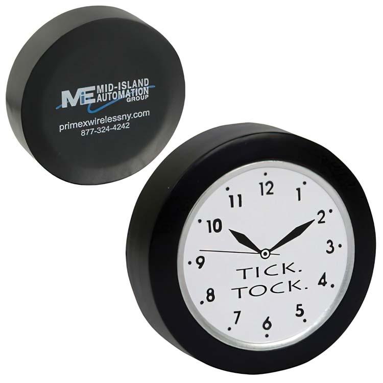Horloge balle anti-stress