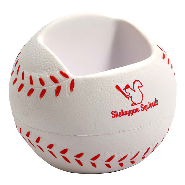 Support pour cellulaire balle de baseball balle anti-stress