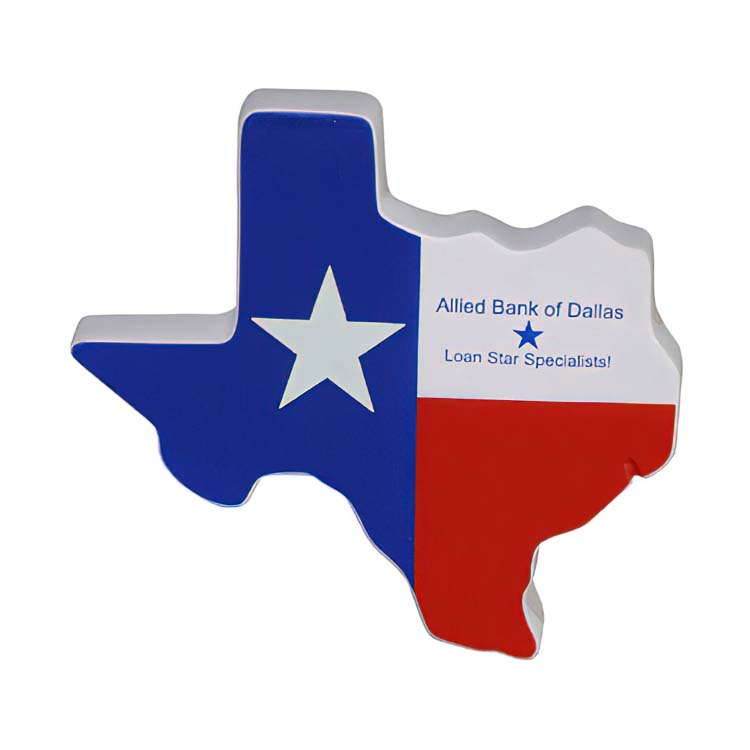 État du Texas balle antistress