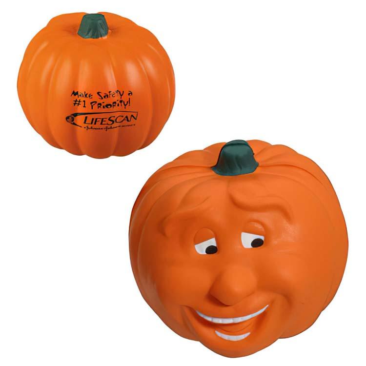 Pumpkin Smile Stress Ball