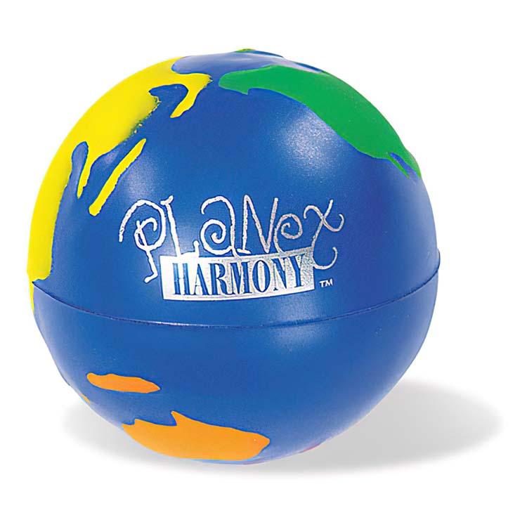 Multi-Color Globe Stress Ball