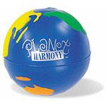 Globe multicolore balle anti-stress