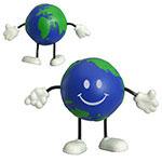 Figurine globe terrestre anti-stress