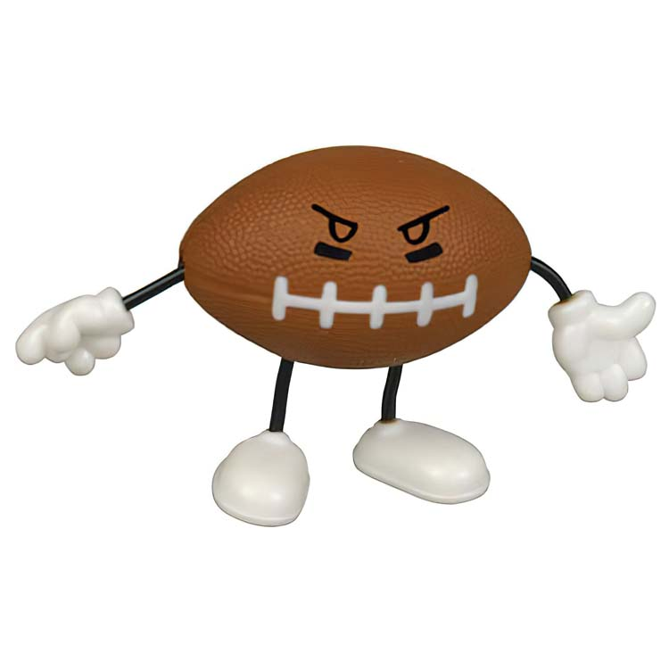 Figurine ballon de football anti-stress