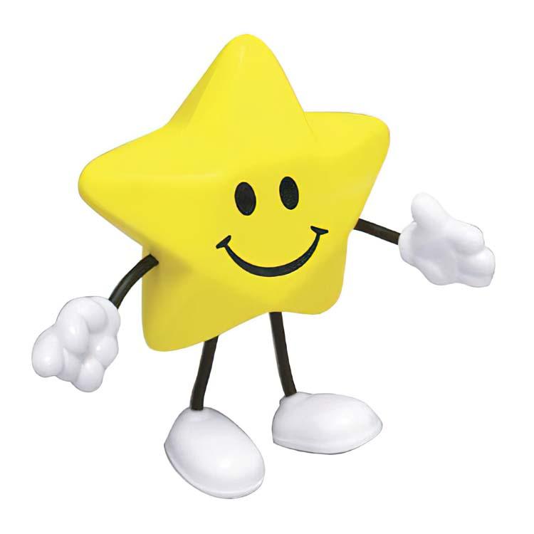 Figurine étoile anti-stress