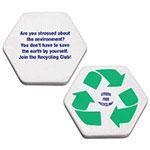 Symbole de recyclage balle anti-stress