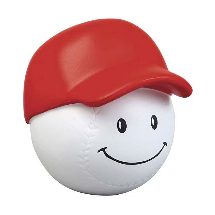Baseball Mad Cap Stress Ball 1