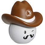 Chapeau de cowboy balle anti-stress no. 3