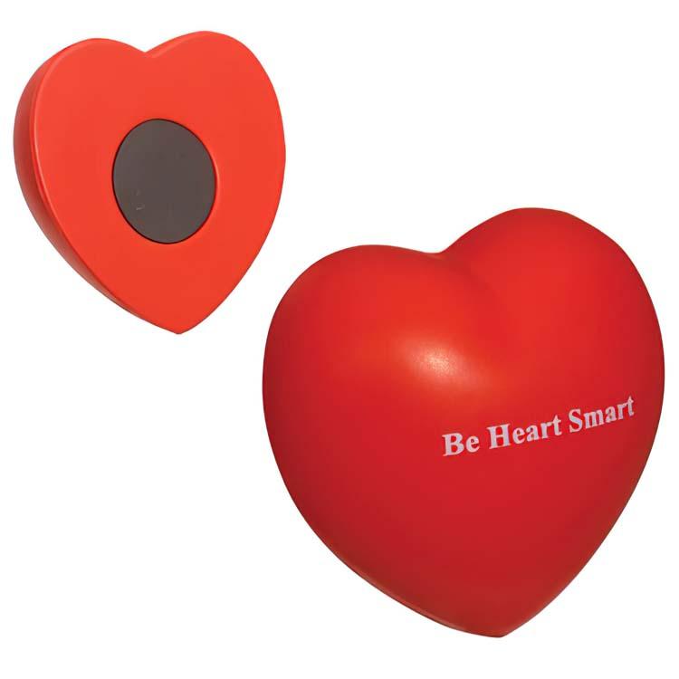 Coeur de la St-Valentin magnétique balle anti-stress