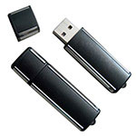 Black USB Memory Flash Drive