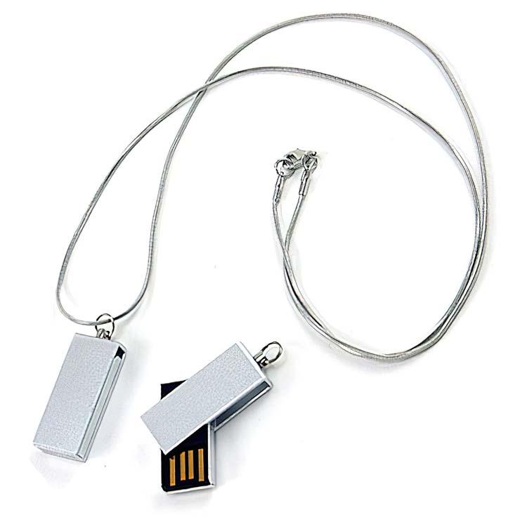 Bâton de mémoire clé USB pivotante