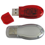 Opaque or Translucent USB Memory Flash Drive