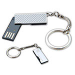Mini bâton de mémoire clé USB en métal