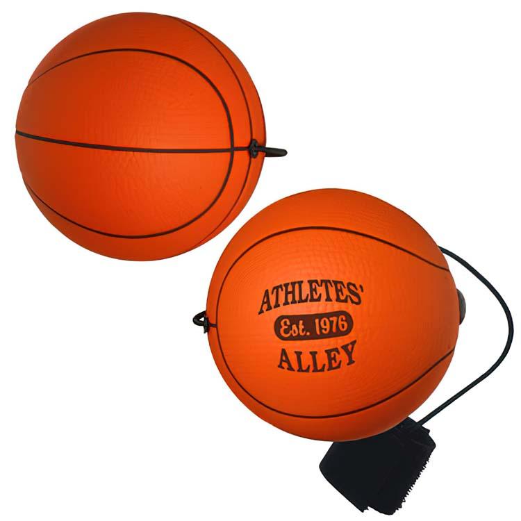 Balle anti-stress yoyo ballon de basketball