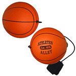 Basketball Yo-Yo Stress Ball