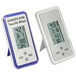 Horloge mince et température