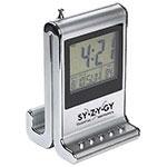 Horloge avec radio et affichage de la température