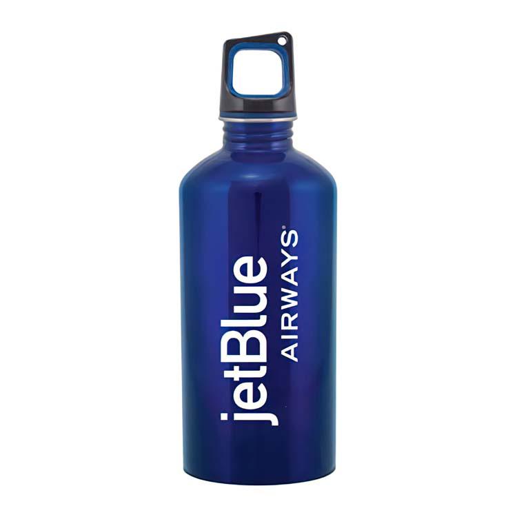 Bouteille classique en acier inoxydable - Bleu