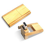 Swivel Wooden/Bamboo USB Flash Drive