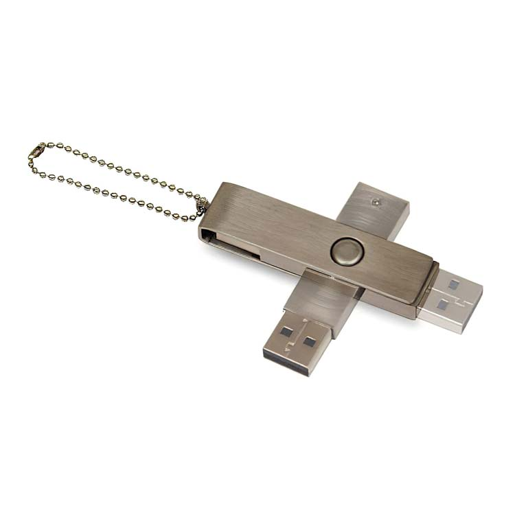 Bâton USB en acier inoxydable