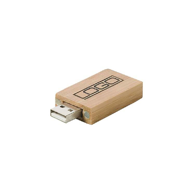 Clé USB écologique en bambou