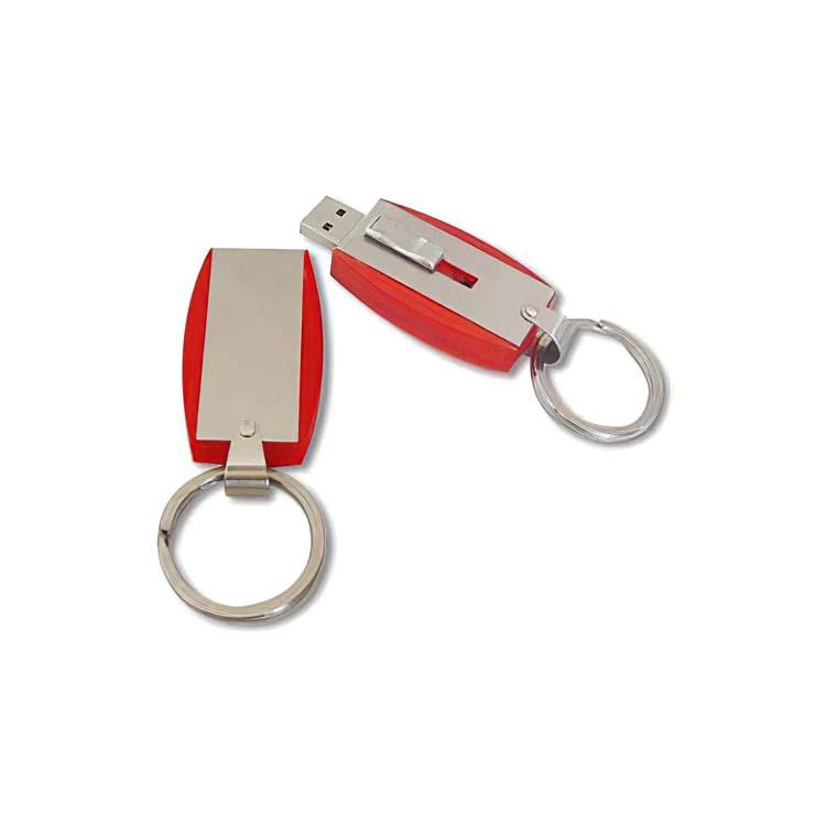 Bâton de mémoire USB avec attache porte-clés