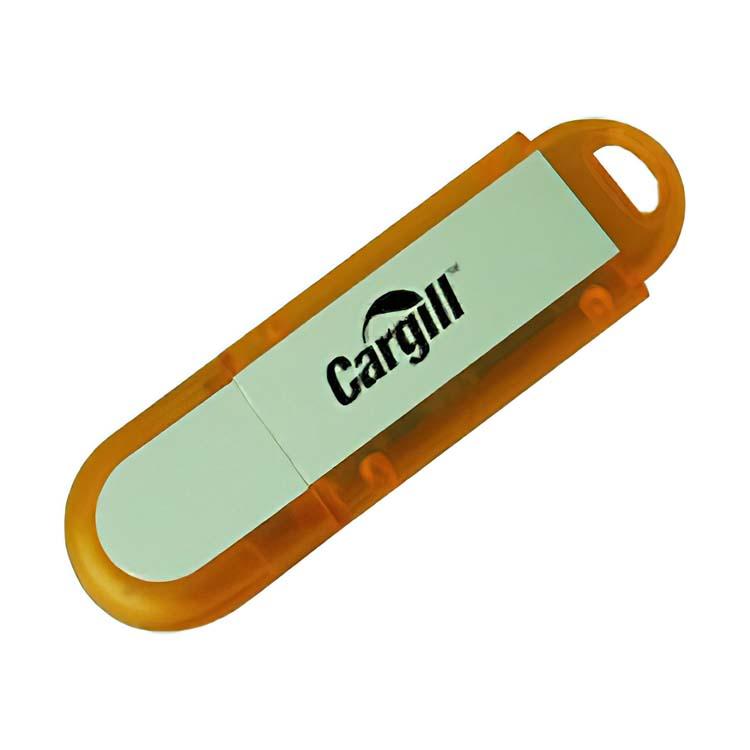 Bâton de mémoire USB en forme de D