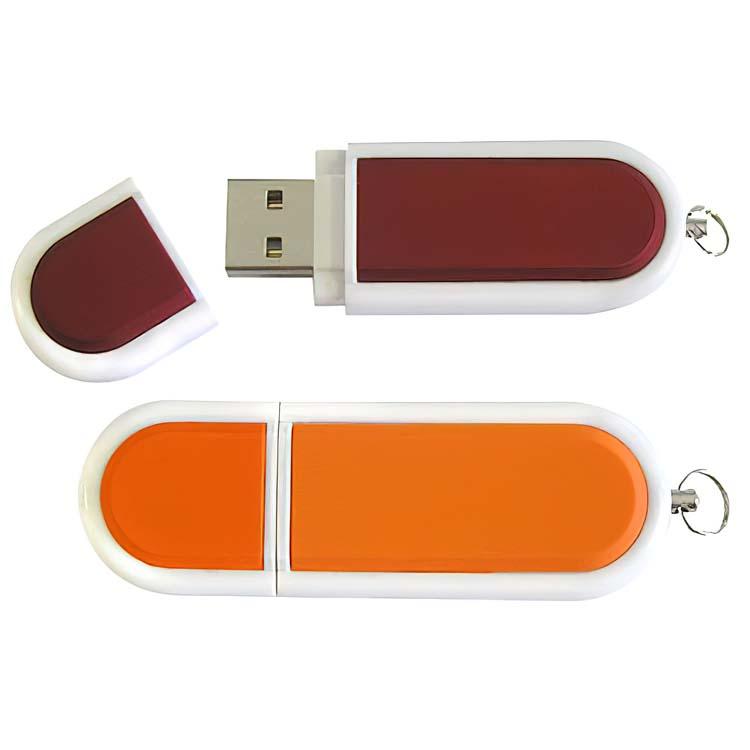 Clé USB promotionnelle en plastique