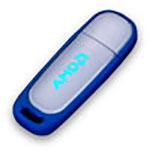 Bâton de mémoire USB lumineux #1