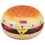 Minuterie de 60 minutes - Hamburger
