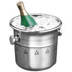Minuterie de 60 minutes - Champagne dans un seau