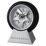 Wheel Alarm Clock with Metal Base