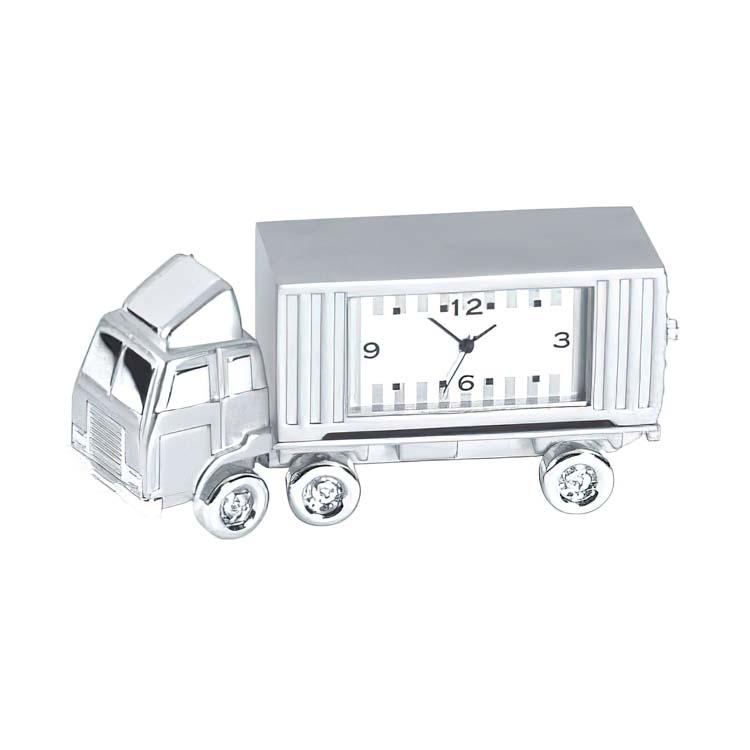 Horloge camion en métal