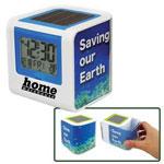 Horloge/cadre photo à alimentation solaire
