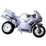 Horloge motocyclette en métal