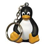 Porte-clés pingouin anti-stress #1